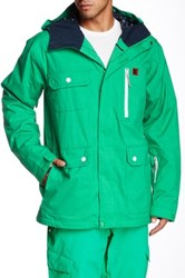 Dc Servo 15 Snow Jacket Green