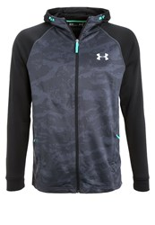 Under Armour Tech Tracksuit Top Gray Black Silver