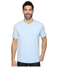 Tommy Bahama Portside Player V Neck Tee Icy Men's Short Sleeve Pullover Silver