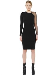 Stella Mccartney Tulle And Jersey Dress