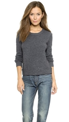 Inhabit Scoop Neck Sweater Titanium