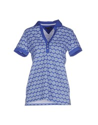 Tommy Hilfiger Topwear Polo Shirts Women Blue