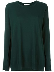 Stefano Mortari Round Neck Jumper Green