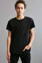 Urban Outfitters Franklin Wide Neck Tee Black