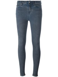 Iro High Rise Skinny Jeans Blue