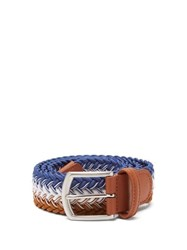 Andersons Anderson's Woven Elasticated Belt Multi