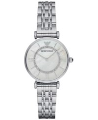 Emporio Armani Stainless Steel Bracelet Watch 32Mm Ar1908