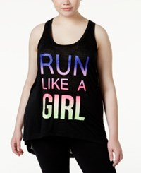 Ideology Plus Size Mommy And Me Graphic Tank Top Only At Macy's Noir