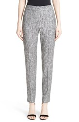St. John Women's Collection Emma Abstract Stretch Twill Pants
