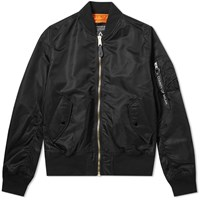 Marcelo Burlon X Alpha Industries Tiger Ma 1 Jacket Black