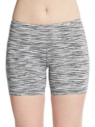 Alo Yoga Burn Shorts White Space