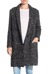 Bb Dakota Women's 'Douglas' Boucle Oversized Blazer Black