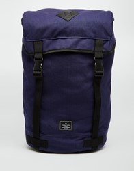 Asos Hiker Backpack In Navy Blue