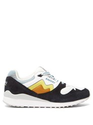 Karhu Synchron Leather And Suede Trainers Black Multi