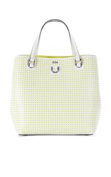 Karen Millen Perforated Mini Bucket Bag