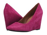 Franco Sarto Woodstock Fuxia Women's Wedge Shoes Pink