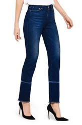 Ayr Women's The Aloe High Waist Straight Leg Jeans Orchids