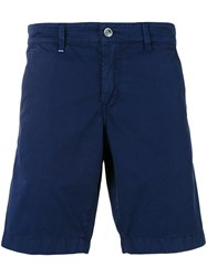 Re Hash Bernini Chino Shorts Men Cotton 30 Blue