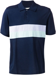 Band Of Outsiders Panelled Polo Shirt