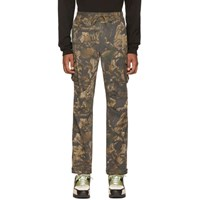 John Elliott Brown Panorama Cargo Pants