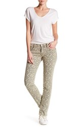 Zadig And Voltaire Eva Leopard Slim Jean Metallic