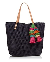 Mar Y Sol Savannah Tote Navy
