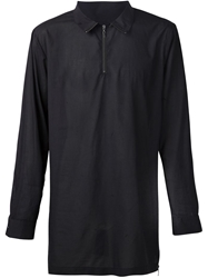 Rochambeau High Collar Zip Shirt