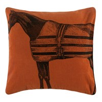Thomas Paul Equestrian Pillow Orange