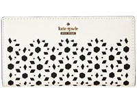Kate Spade Cameron Street Perforated Stacy Cement Wallet Beige