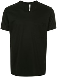 Attachment Chest Pocket T Shirt Black