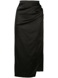 Manning Cartell Ruched Pencil Skirt Black