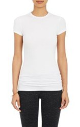 Atm Anthony Thomas Melillo Women's Tissue Weight T Shirt Colorless Siz