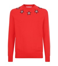 Givenchy Cuban Star Knit Male Red