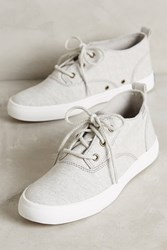 Anthropologie Keds Triumph High Top Sneakers Grey