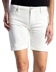 Liverpool Jeans Hayden Rolled Cuff Shorts Bright White