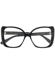 Gucci Eyewear Oversized Glasses Black