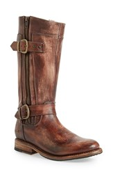 Women's Bed Stu 'Gogo' Boot Teak Driftwood Leather