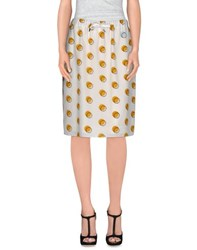 Fendi Skirts Knee Length Skirts Women White