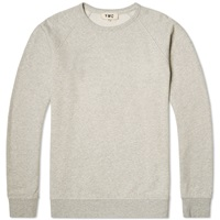 Ymc Raglan Crew Sweat Grey