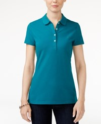 Tommy Hilfiger Polo Top Only At Macy's Everglade Print