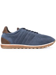 Alberto Fasciani 'Sport' Lace Up Sneakers Blue