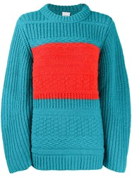 Paul Smith Stripe Detail Chunky Knitted Jumper 60