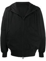 Y 3 Oversized Zip Up Hooded Jacket 60