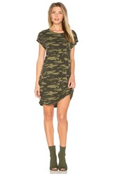 Sanctuary Camo T Shirt Dress Army
