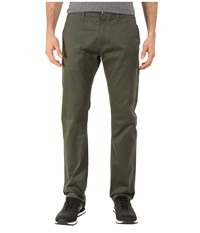 Huf Selvedge Chino Pants Military Men's Casual Pants Olive