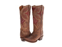 Lucchese M4861 Nude Cowboy Boots Beige