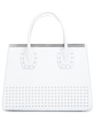 Thomas Wylde Studded Tote White