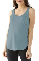 Lamade Women's Boyfriend Pocket Tank Goblin Blue