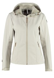 Icepeak Terra Soft Shell Jacket Cement Beige