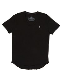 Religion T Shirt With Scoop Neck Black